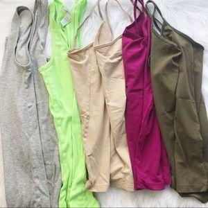 Basic undershirt camisole bundle f21 Mossimo M/L